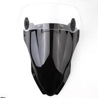 Motorcycle 280mm Risen Adjustable Windscreen Air Deflector Windshield Wind Screen Spoiler For Suzuki SV 650 Bandit 600 Intruder