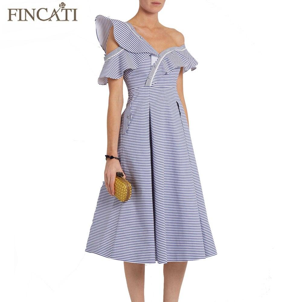 Dress mujeres 2017 autorretrato ruffles manga de la mariposa del volante azul ti