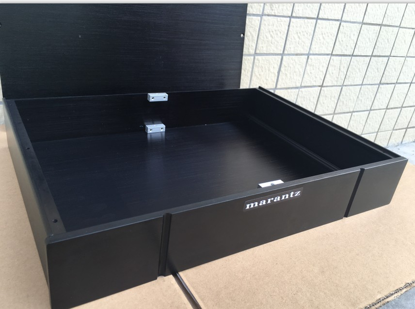 aluminum pre-amplifier chassis /home audio amplifier case (size 430*70*308MM)