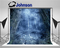 enchanted forest blue tree photography studio background Vinyl cloth High quality Computer print wall photo backdrop