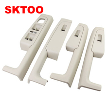 A Set Free shipping for Skoda Superb Inner door handle armrest, switch box inside the of glove package
