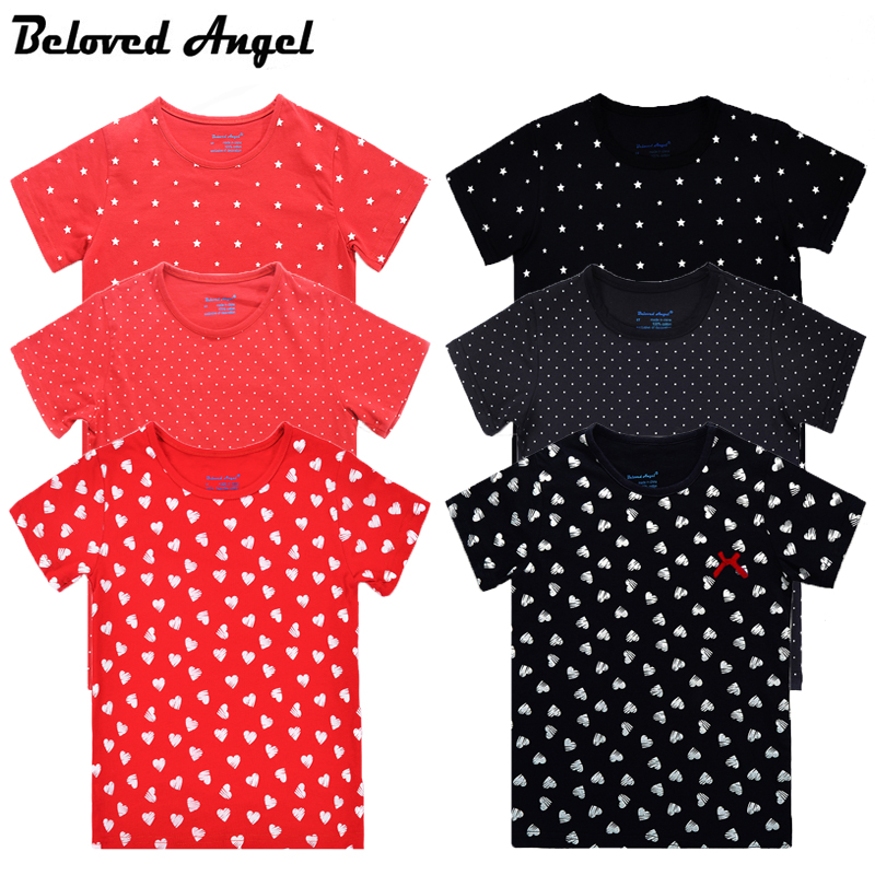 Beloved Angel Children T-shirt O Neck Baby T Shirt Best Seller Summer Boys Girls Kids Short Sleeve Tops Tees Clothes 100% Cotton image