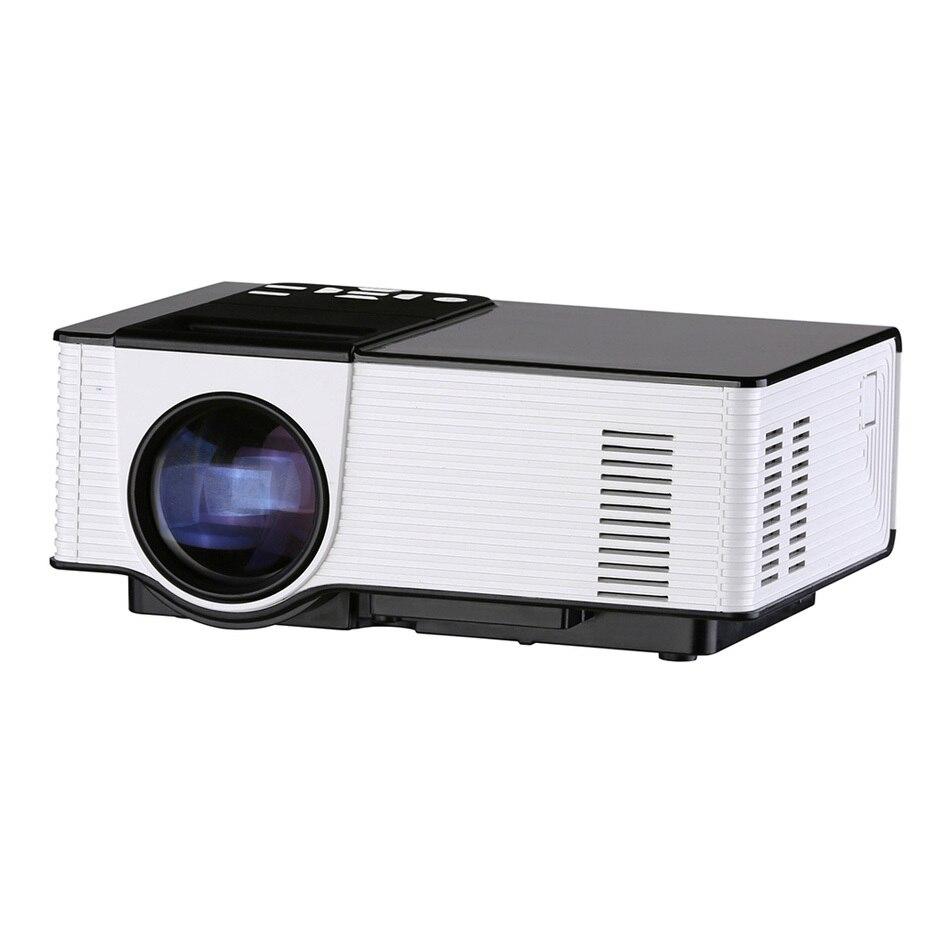 Prix pour VS314 LED Mini Projecteur Full HD 1500 Lumens 800x480 Pixels 0.9-6 M Accueil TV Media Player Portable Home Cinéma Proyector
