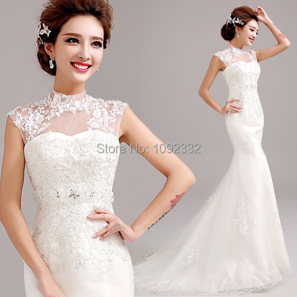 S 2016 New Stock Plus Size Women Bridal Gown Wedding Dress