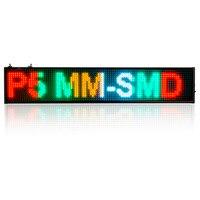 P5 SMD sklep Led Czas countdow Programowalny Przewijanie Wyświetlacz LED Znak Pokładzie 4 kolor Wiadomość, 16 pikseli każdego koloru