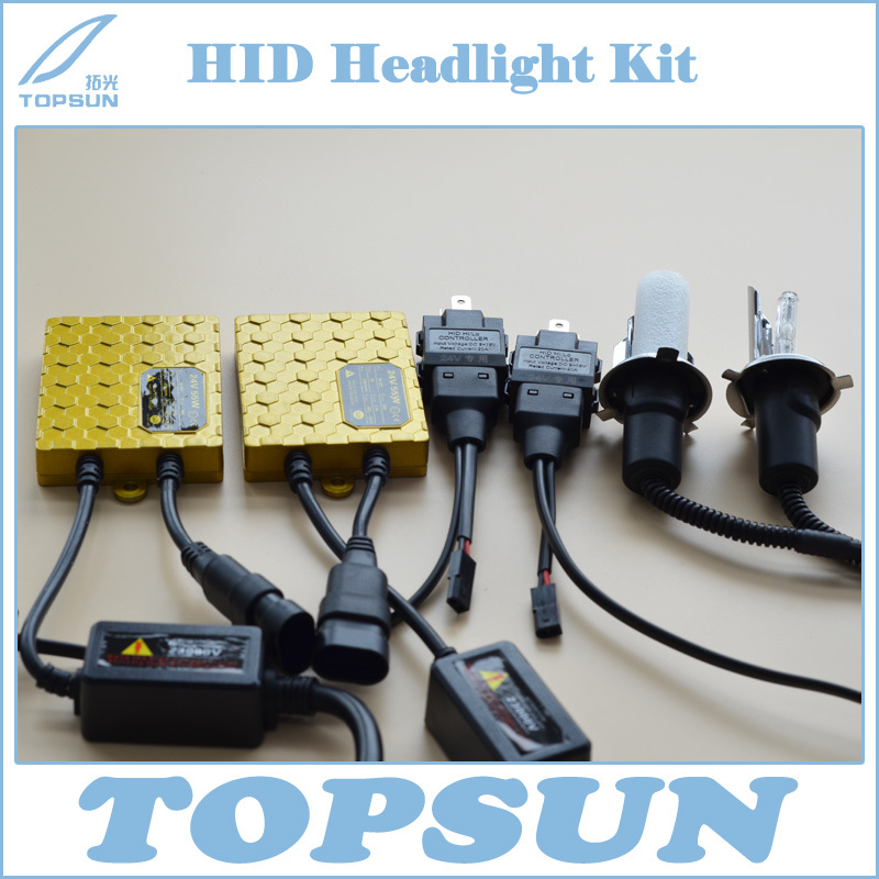 Car Light Source 24V 55W HID Xenon Headlight Conversion Kit Ballast and H4 Swing Angle Xenon Bulb