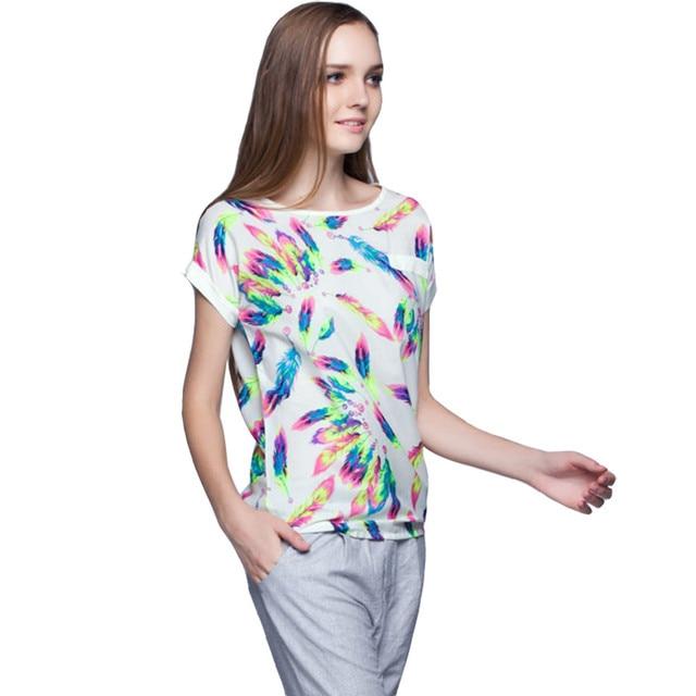 Verano Más El Tamaño 5XL 6XL Camisa Ocasional Del O-cuello Tops Tee Blusa de Las Mujeres Señoras Camisa Blusas Feminina Femme Ropa Barata de China