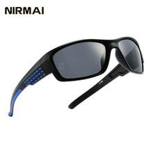 NIRMAI new fashion polarizing sunglasses, sunglasses brand, retro female mens classic glasses UV400