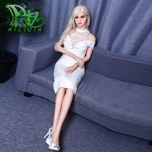 Image 1 - 유럽 스타일의 섹스 인형 158cm TPE 진짜 인형 섹스 가슴 음부 질 섹스 제품 자위 인형 사랑 성인 완구