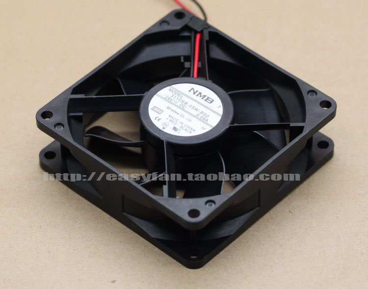 NMB 3110SB-05W-B50 E00 DC 24V 0.09A 2-wire 2-pin connector 80x80x25mm Server Square fan запонка arcadio rossi запонки со смолой 2 b 1026 20 e