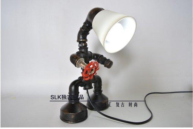e edison bombilla tubo tubo de acero lmpara de estilo industrial de la vendimia retro edison