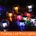 Outdoor Lighting Waterpfoof Pool Solar Power Floating Tree Hang LED Decoration Lights Garden Pond Float Lamps Solar Light