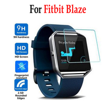 For Fitbit Blaze Smart Tempered Glass For Fitbit Blaze Smart Screen Protector Cover Protective Film Case