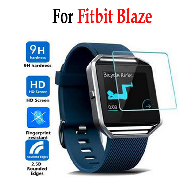 online store f3fda 057b5 US $1.53 18% OFF For Fitbit Blaze Smart Tempered Glass For Fitbit Blaze  Smart Screen Protector Cover Protective Film Case For Fitbit Blaze glass-in  ...