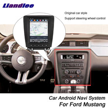 Liandlee Car Android For Ford Mustang 2010~2014 Original Tesla Style Radio Carplay GPS DAB+ Wifi Navi MAP Navigation Multimedia(China)