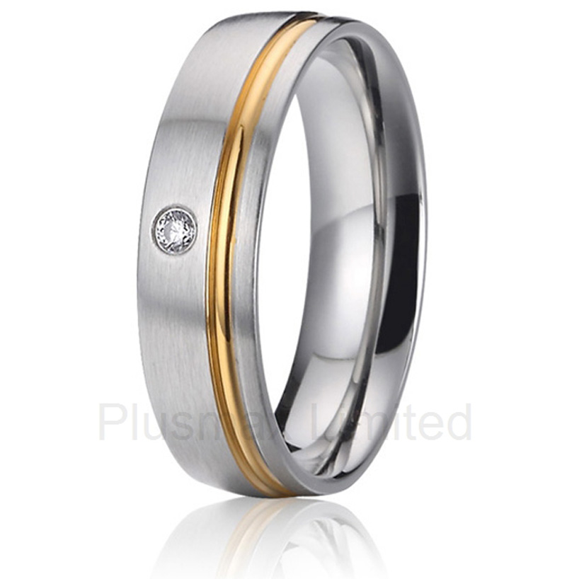 2016 Professional and reliable jewelry seller offer a vast assortment of engagement wedding band pure titanium rings anel feminino cheap pure titanium jewelry wholesale a lot of new design cheap pure titanium wedding band rings