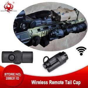 Image 1 - Airsoft Tactical Accessories Rifle Gun Aluminum Wireless Remote Control Tail Cap Mount fit SF M951 M952V M961 M971 Flashlight
