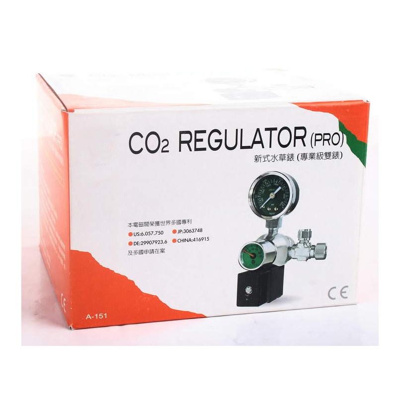 110 V/220 V Co2 régulateur de pression vanne magnétique-solénoïde réglable plantes aquarium