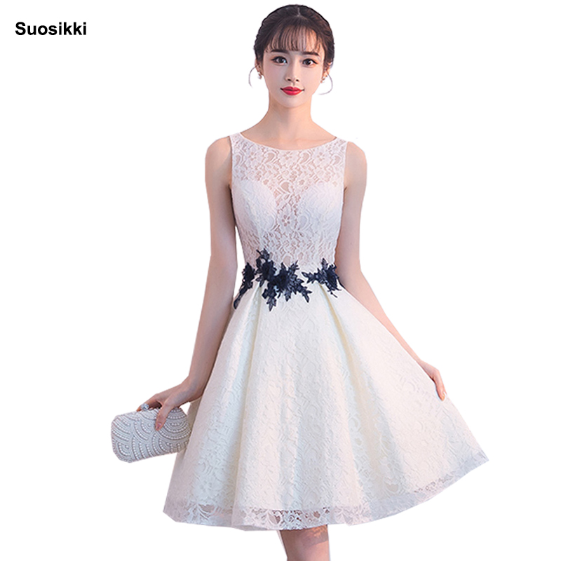 Suosikki 2018 new   Cocktail   Party   Dress   EP0552 Elegant A-Line Mini Lady   Cocktail     Dresses   custom formal prom gown