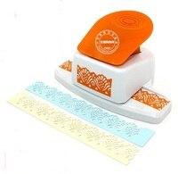 משלוח חינם צורת פרח נרקיס גבול אגרוף אגרוף אגרופן מלאכת הבלטות נייר פאנץ ' scrapbook קצה קצף לחתוך נייר
