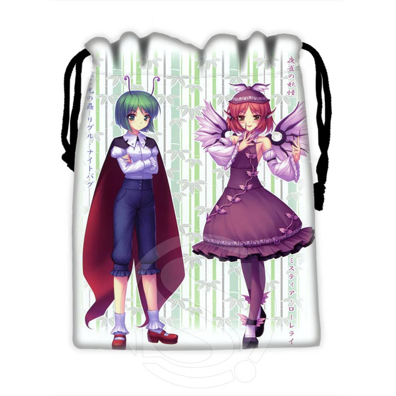 H-P778 Custom Sexy Anime Girl#3 Drawstring Bags For Mobile Phone Tablet PC Packaging Gift Bags18X22cm SQ00806#H0778