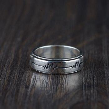 5eab1cec31ea SHANICE genuino Plata de Ley 925 anillos de joyería fina anillo abierto de  compromiso Linda ...