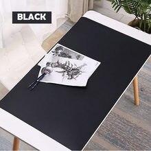 Mousepad, mouse pad antiincrustante à prova d' água 1000x500mm, grande almofada de mouse de couro pu para jogos