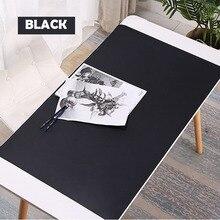Mousepad, mouse pad antiincrustante à prova d água 1000x500mm, grande almofada de mouse de couro pu para jogos