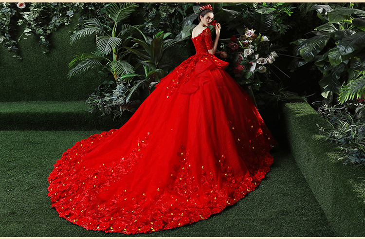 44a581f1d46e8 Heavy Embroidery Beading Maternity Dress Photography Props Wedding ...