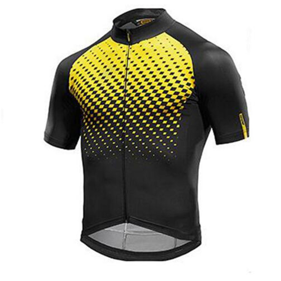 cycling jersey 2018 pro team MAVIC Cycling Jersey men equipment Bicycles quick-drying bicycle clothes short sleeve Cycling