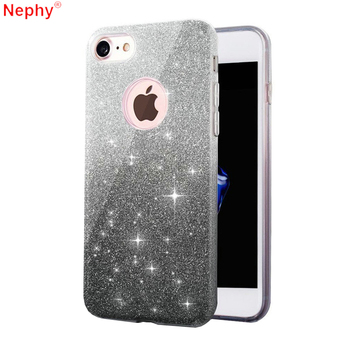 Nephy Luxury Silicone Case for iPhone 6 s iPhone 6S 7 X 10 8 Plus iPhone 5S 5 SE 5SE 6Plus 6SPlus 7Plus 8Plus Cell Phone Cover iPhone
