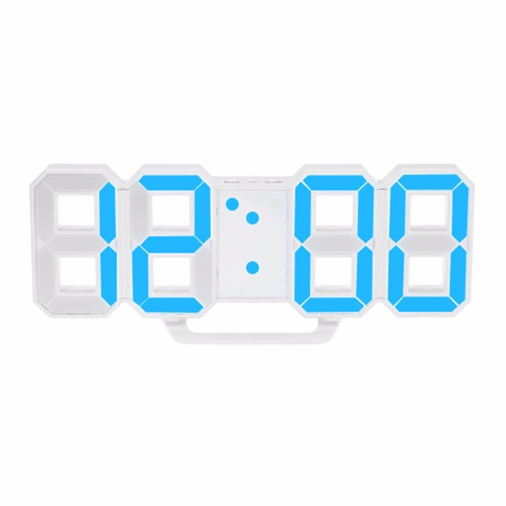 Modern Design Large Size Digital LED Wall Clock Watch Unique Vintage Home Decoration Timer Watch Alarm Clocks