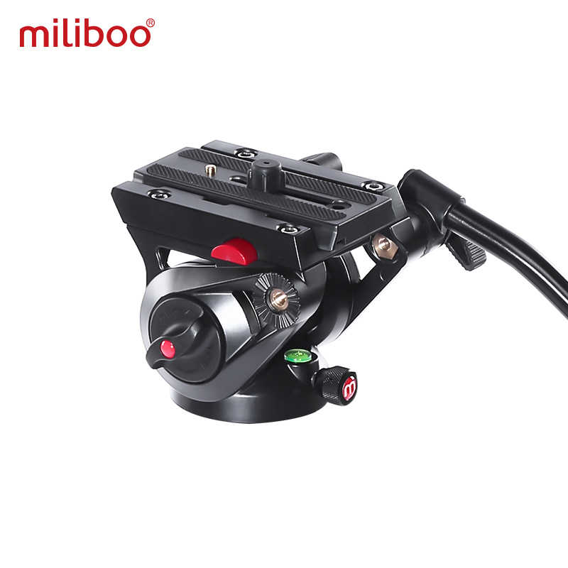 Image 3 - miliboo MTT705Ⅱ Camera Video Monopod with Fluid Drag Head Professional Camera Stand for DSLR, Camcorder 10kg load fast shipping-in Tripods from Consumer Electronics