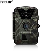 Boblov CT008 Trail игры Scounting Охота дикой природы Камера 2,4 «ЖК-дисплей Ночное видение цифровой наблюдения фото ловушка 24 шт. светодиоды Cam