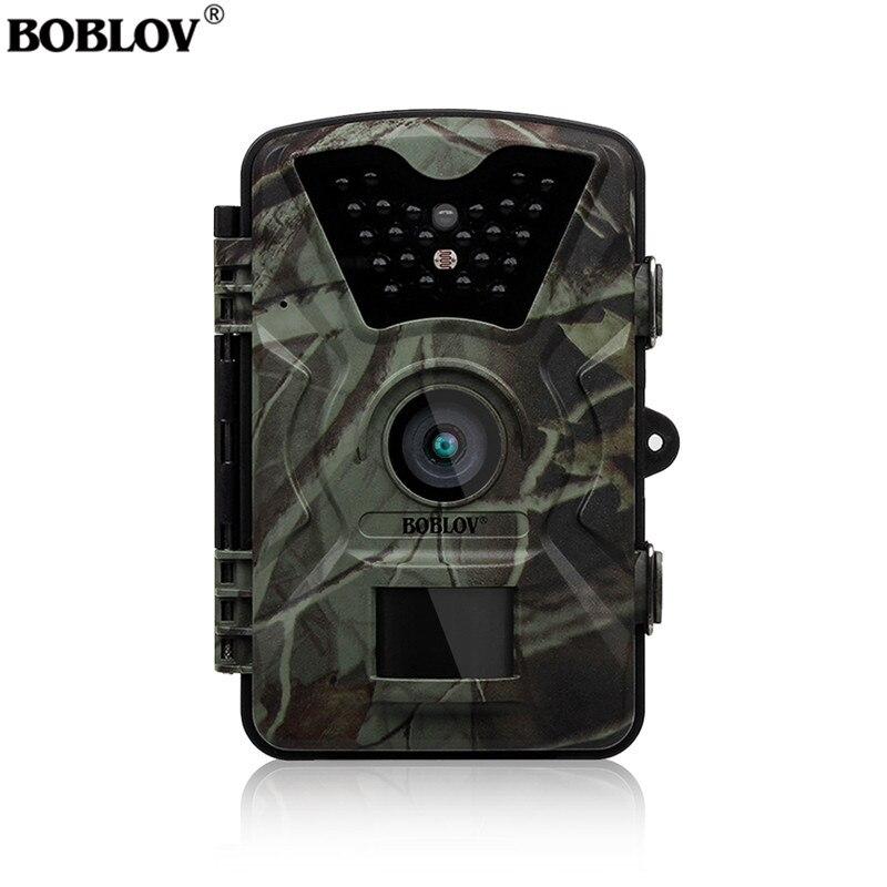 Boblov CT008 Trail Jeu Scounting Chasse De La Faune Caméra 2.4 LCD Vision Nocturne Numérique Surveillance Photo Piège 24 pcs Led cam