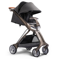 High Landscape Luxury Baby Stroller with Lamp Bebek arabasi Folding Poussette Kinderwagen Fashion Carriage European Pram