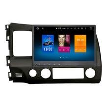 Автомобиль 2 din android GPS для Honda Civic 8 авторадио навигации головного устройства мультимедиа радио broswer 2 ГБ + 32 ГБ Android 6.0 PX5 8-ядерный
