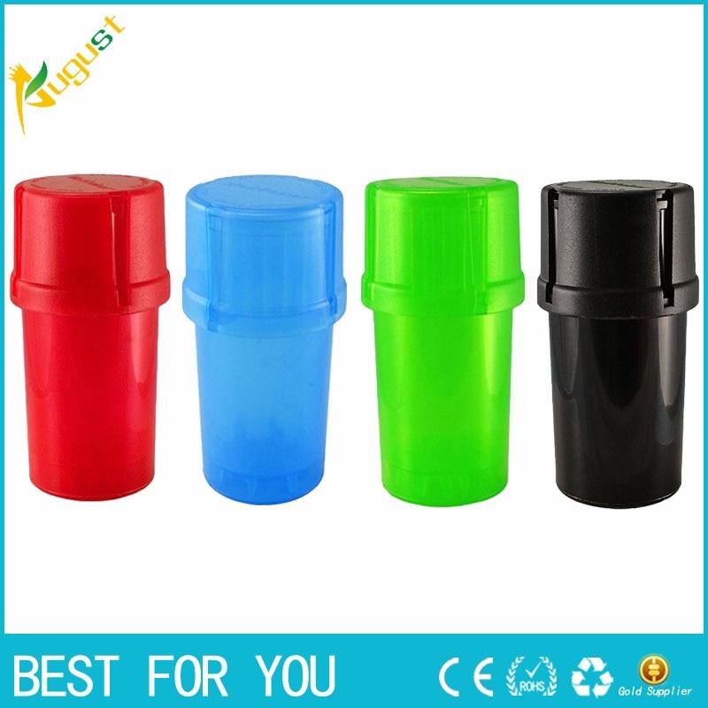 10pcs/lot Plastic Grinder Medical Grade Plastic Smell Tobaccs