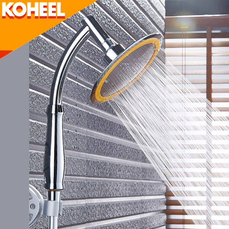 Dusche kopf Regen Dusche Große 4/6 Zoll Hohe Druck Badezimmer-niederschlag Dusche SPA Ultra-dünne Showerhead Kopf