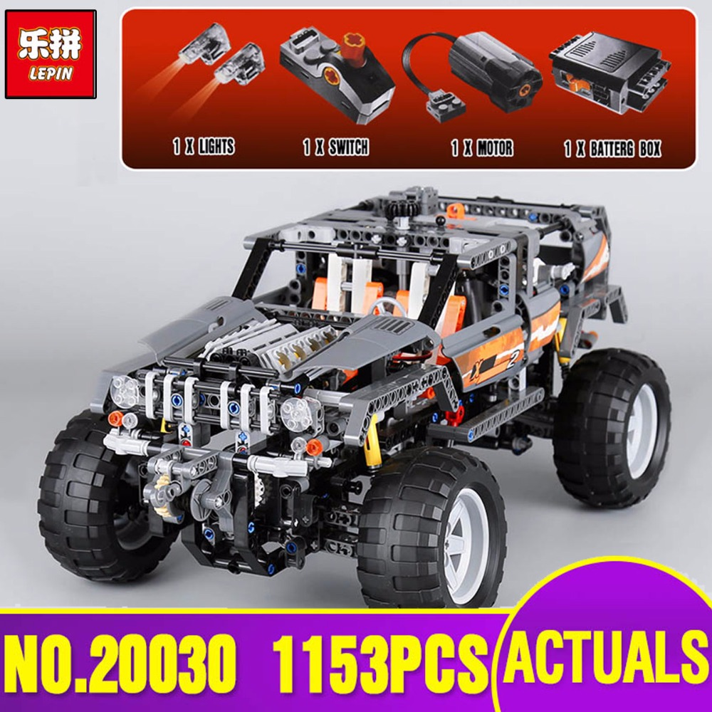 Lepin 20030 Technic Ultimate Series The Off-Roader Set Children Educational Building Blocks Bricks Toys Model Gifts legoing 8297 lepin 20030 1132pcs technik ultimate off roader cars legoingly 8297 sets building nano block bricks toys for boy gifts