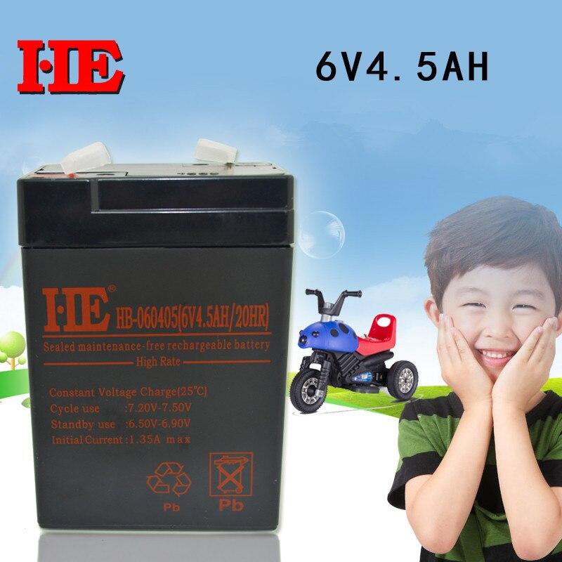 6v 4.5ah battery