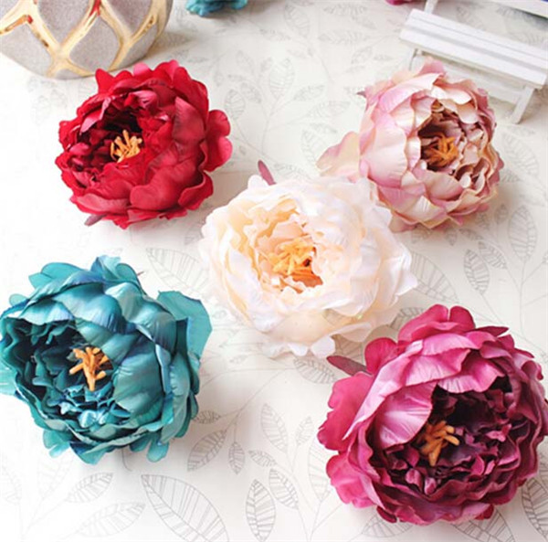 Autumn vintage artificial peony 11cm silk flower millinery autumn vintage artificial peony 11cm silk flower millinery decoration flower suppies fake peonies hawaii headdress 50pcslot in artificial dried flowers mightylinksfo