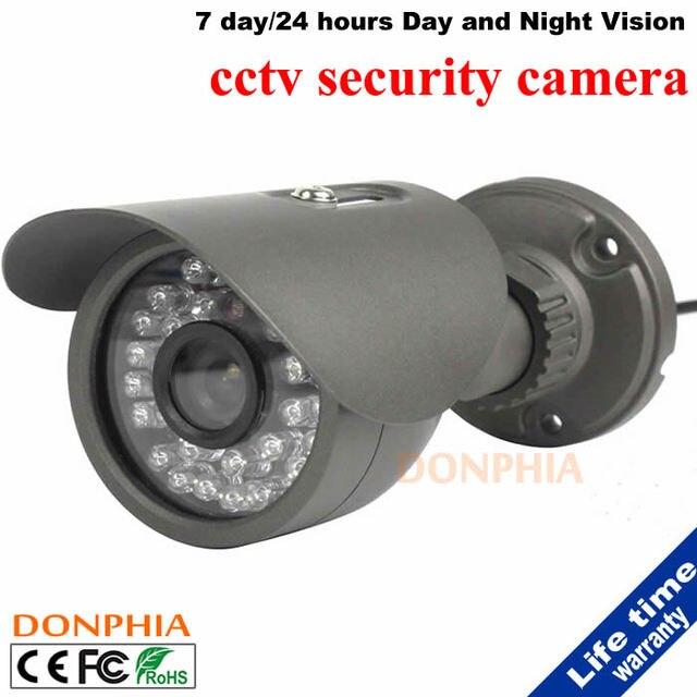 700TVL 1/4 ''CMOS 30 Светодиодов Ночного Видения 3.6 мм/6 мм Объектива Открытый/Закрытый Металлический Водонепроницаемый открытый пуля Камеры CCTV Камеры Безопасности