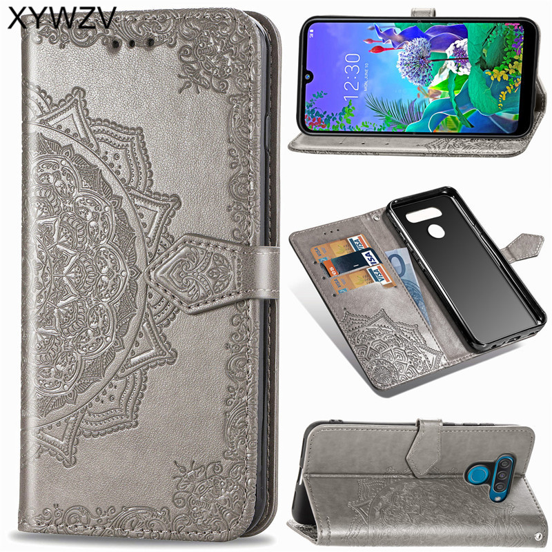 For LG Q60 Case Shockproof Cover Luxury Flip Wallet Soft Silicone Phone Case Card Holder Fundas For LG Q60 Back Cover For LG Q60-in Flip Cases from Cellphones & Telecommunications