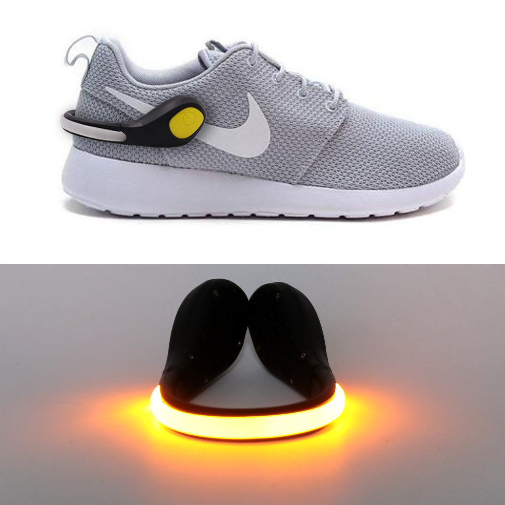 Sports Warning Lamp Safety Light Safety Night Running Shoe Cycling Bicycle Bike LED Outdoor Shoe Lamp