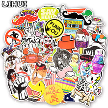 800pcs Random Stickers Cool Funny Cute Kawaii Creative Waterproof Sticker for DIY Sticker on Laptop Suitcase Car Bicycle Helmet(China)