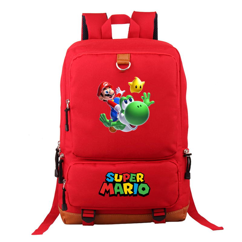 Super Mario Unisex Men Bag Summer Travel Sport Backpack Computer Backpacks Casual Business Bags Escolar Student Book Bag