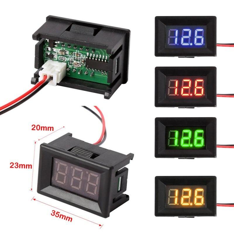 Dc Voltage Digital Panel Meters : Aliexpress buy mini digital voltmeter dc