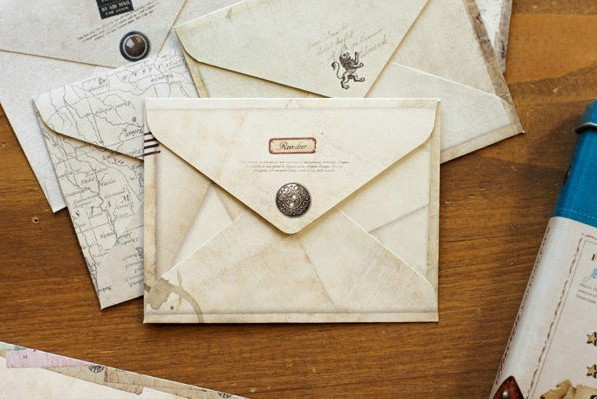 Us 253 38 Off36 Pcs Vintage Mini Kraft Kertas Amplop Surat Amplop Coklat Pernikahan In Kartu Undangan From Rumah Taman On Aliexpress