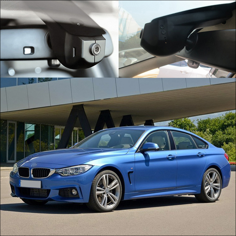 For BMW 4 seire 428i Gran Coupe <font><b>M</b></font> 2014 APP <font><b>Control</b></font> Car wifi DVR Driving Video Recorder FHD 1080P Car black box dashcam g-sensor